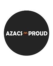 AZACS - Proud 2 Circle Coaster thumbnail