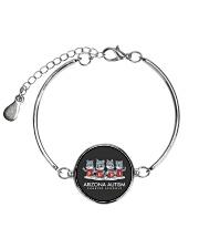 AZACS - Wolf Pack Pups 2  Metallic Circle Bracelet thumbnail
