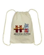 AZACS - Puzzle Pup 1 Drawstring Bag thumbnail