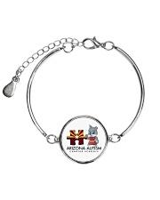 AZACS - Puzzle Pup 1 Metallic Circle Bracelet thumbnail