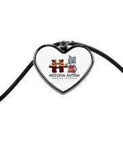 AZACS - Puzzle Pup 1 Cord Heart Necklace thumbnail