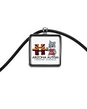 AZACS - Puzzle Pup 1 Cord Rectangle Necklace thumbnail