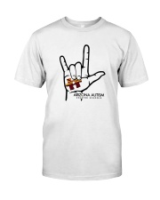 AZACS - I Love AZACS 1 Classic T-Shirt front