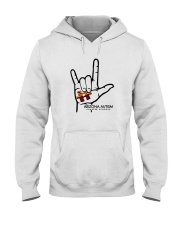 AZACS - I Love AZACS 1 Hooded Sweatshirt thumbnail