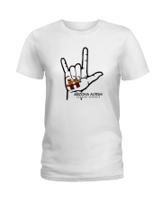 AZACS - I Love AZACS 1 Ladies T-Shirt thumbnail