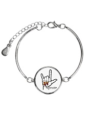 AZACS - I Love AZACS 1 Metallic Circle Bracelet thumbnail
