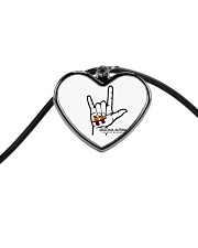 AZACS - I Love AZACS 1 Cord Heart Necklace thumbnail