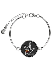 AZACS - I Love AZACS 2 Metallic Circle Bracelet thumbnail