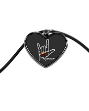 AZACS - I Love AZACS 2 Cord Heart Necklace thumbnail