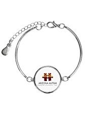 AZACS - Arizona Autism Charter School 1  Metallic Circle Bracelet thumbnail