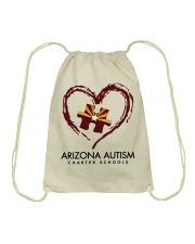 AZACS - Heart 1 Drawstring Bag thumbnail