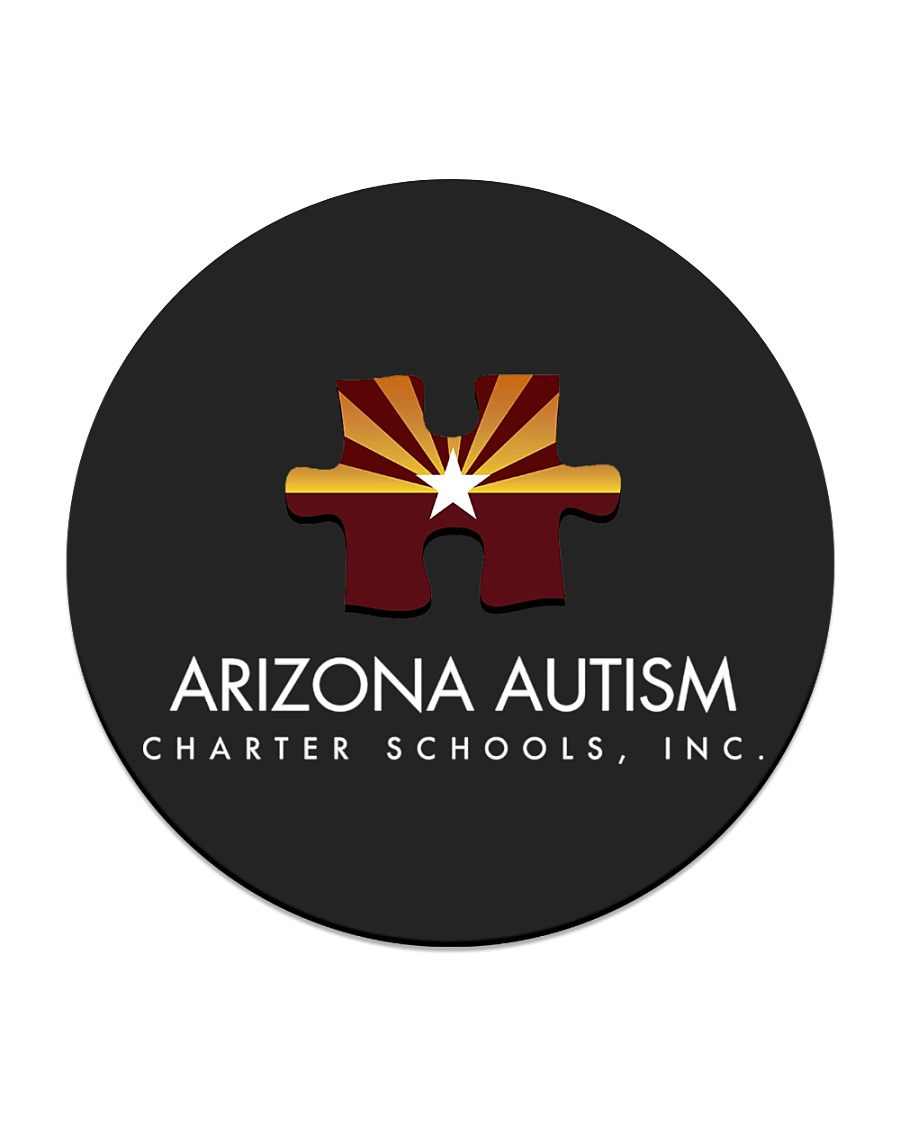 AZACS - Arizona Autism Charter School 2 Circle Coaster