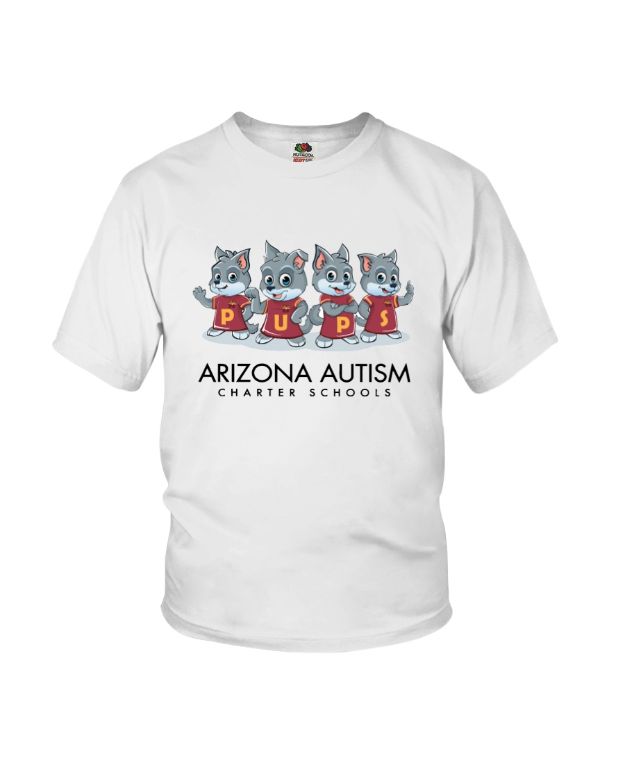 AZACS - Wolf Pack Pups 1 Youth T-Shirt