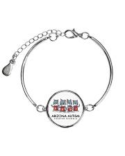 AZACS - Wolf Pack Pups 1 Metallic Circle Bracelet thumbnail