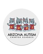 AZACS - Wolf Pack Pups 1 Circle Coaster thumbnail