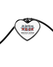 AZACS - Wolf Pack Pups 1 Cord Heart Necklace thumbnail