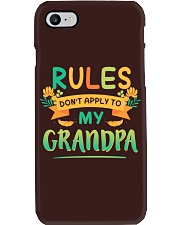 RULES DON'T APPLY TO MY GRANDPA Phone Case tile