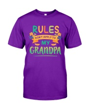 RULES DON'T APPLY TO MY GRANDPA Classic T-Shirt tile