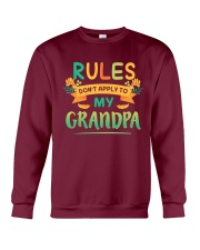 RULES DON'T APPLY TO MY GRANDPA Crewneck Sweatshirt thumbnail