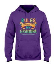 RULES DON'T APPLY TO MY GRANDPA Hooded Sweatshirt tile