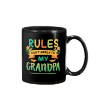 RULES DON'T APPLY TO MY GRANDPA Mug thumbnail