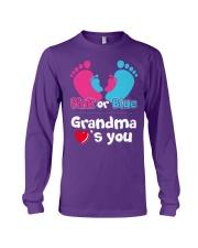 Pink Or Blue Grandma Loves You Long Sleeve Tee thumbnail
