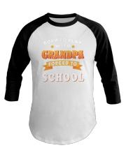 BORN TO PLAY WITH GRANDPA Baseball Tee thumbnail