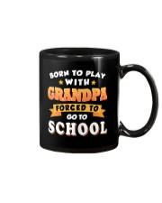 BORN TO PLAY WITH GRANDPA Mug thumbnail