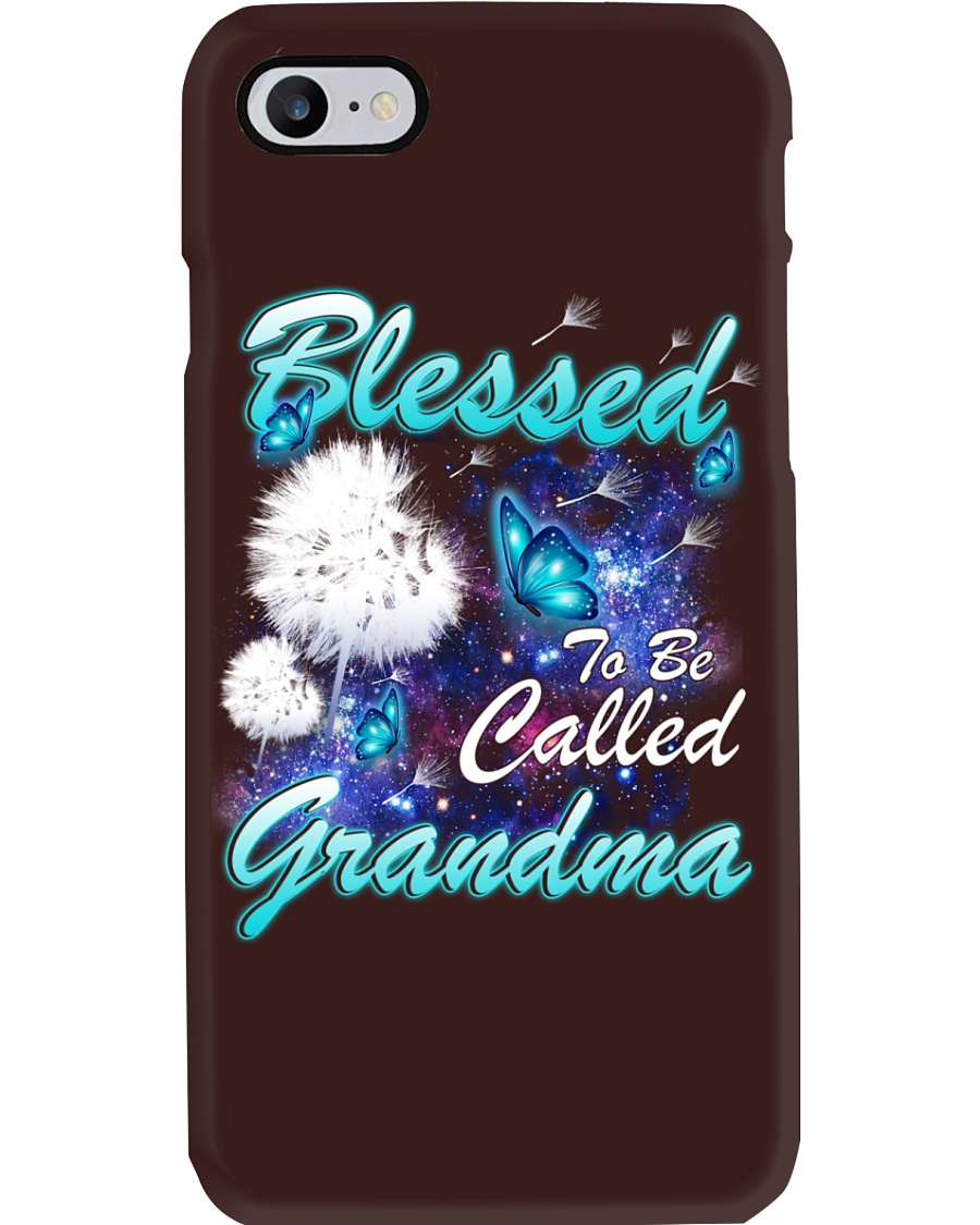 BLESSED TO BE CALLED GRANDMA Phone Case
