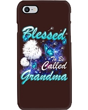 BLESSED TO BE CALLED GRANDMA Phone Case thumbnail