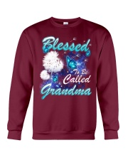 BLESSED TO BE CALLED GRANDMA Crewneck Sweatshirt thumbnail