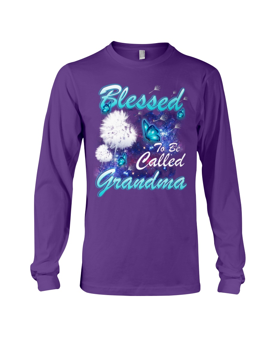 BLESSED TO BE CALLED GRANDMA Long Sleeve Tee