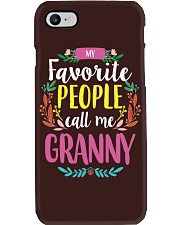 MY FAVORITE PEOPLE CALL ME GRANNY Phone Case tile