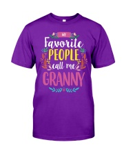 MY FAVORITE PEOPLE CALL ME GRANNY Classic T-Shirt thumbnail