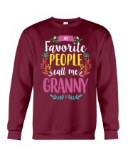 MY FAVORITE PEOPLE CALL ME GRANNY Crewneck Sweatshirt thumbnail