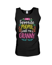 MY FAVORITE PEOPLE CALL ME GRANNY Unisex Tank tile