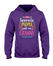 MY FAVORITE PEOPLE CALL ME GRANNY Hooded Sweatshirt tile