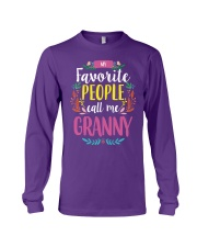 MY FAVORITE PEOPLE CALL ME GRANNY Long Sleeve Tee tile
