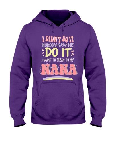 SPEAK TO MY NANA