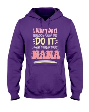 SPEAK TO MY NANA Hooded Sweatshirt thumbnail