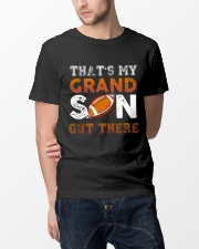 THAT'S MY GRANDSON OUT THERE - FOOTBALL Classic T-Shirt lifestyle-mens-crewneck-front-14