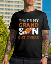 THAT'S MY GRANDSON OUT THERE - FOOTBALL Classic T-Shirt lifestyle-mens-crewneck-front-8