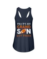 THAT'S MY GRANDSON OUT THERE - FOOTBALL Ladies Flowy Tank thumbnail