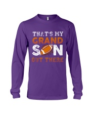 THAT'S MY GRANDSON OUT THERE - FOOTBALL Long Sleeve Tee thumbnail