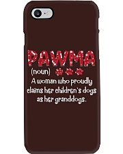 PAWMA SHIRT Phone Case tile
