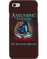 ASSUMING I'M JUST AN OLD MAN WAS YOUR 1ST MISTAKE Phone Case thumbnail
