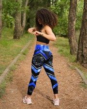 Blue Line  High Waist Leggings aos-high-waist-leggings-lifestyle-17