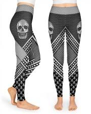 Skull High Waist Leggings front