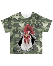 Unique Chicken  All-over T-Shirt front