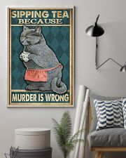 Sipping Tea 11x17 Poster lifestyle-poster-1